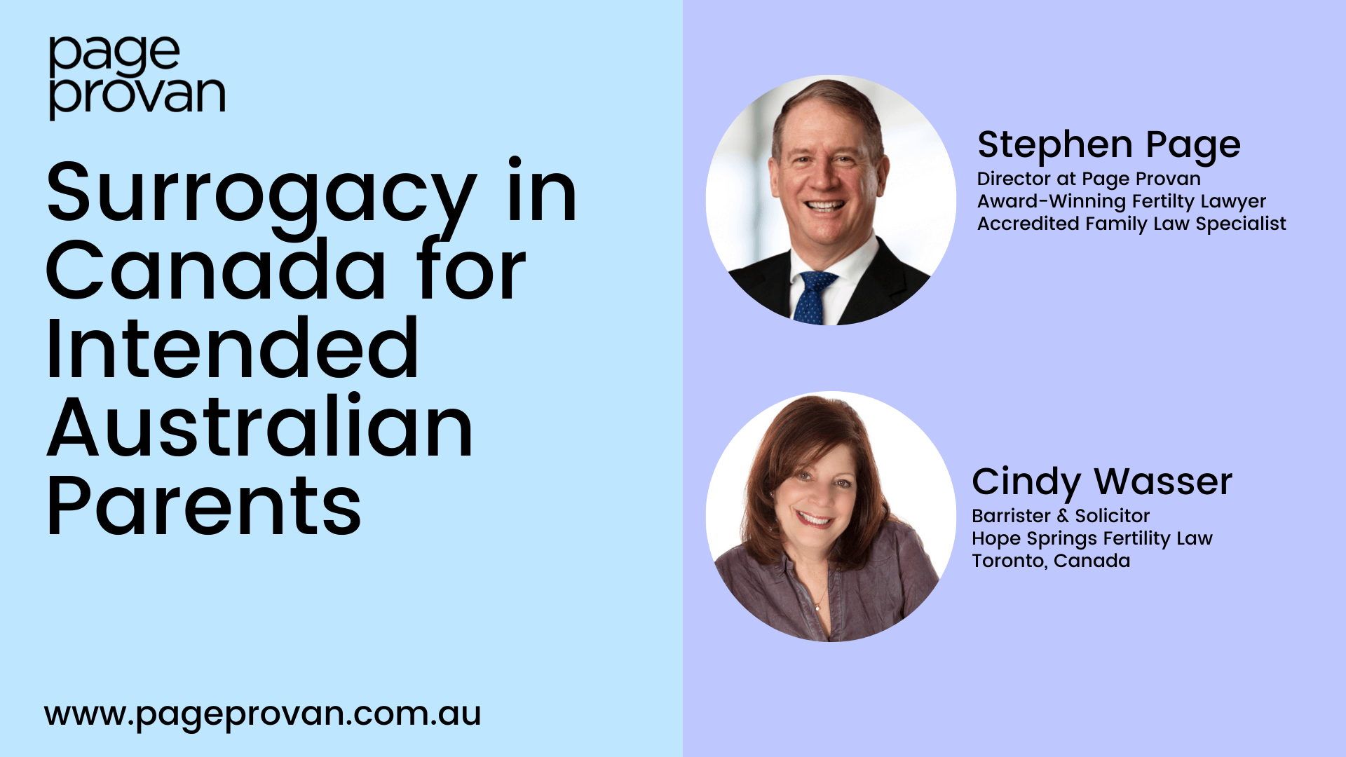 Surrogacy in Canada for Intended Australian Parents